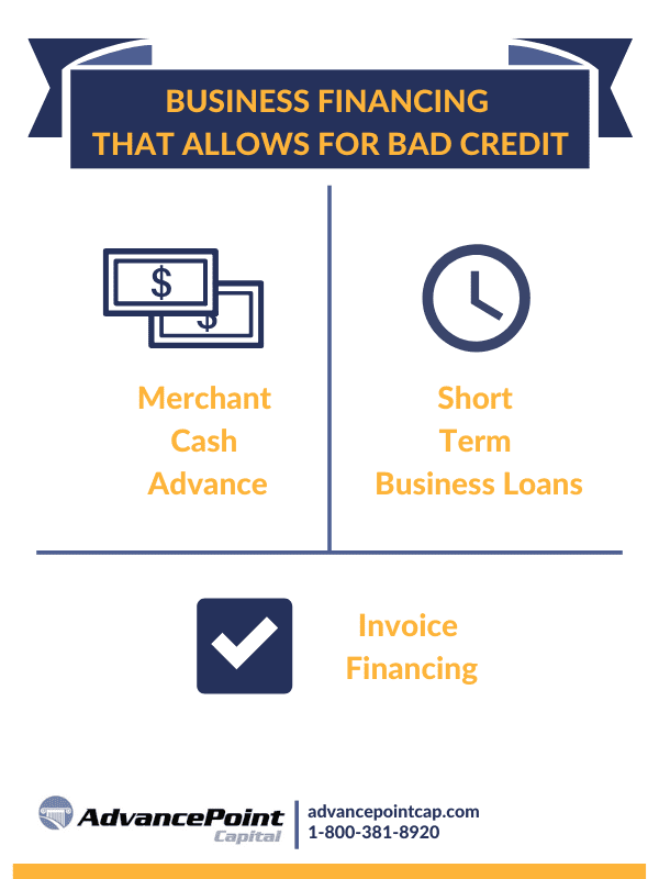 bad credit business financing